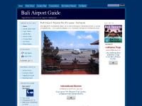 Bali Airport Guide, Airport Quick Facts, Flight Status, Airport Hotels