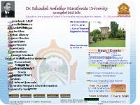 bamu.net Dr.Babasaheb Ambedkar Marathwada University, Aurangabad Postgraduate Courses, Undergraduate Courses