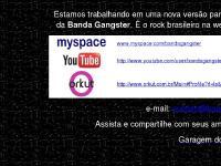Música brasileira estilo rock | Banda Gangster Rock Brasil