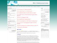 Newsletters, Events, Feedback, B & I Communications new web