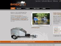 Bandicoot Trailers - aluminium motorcycle trailers and motorbike Tshirts - Australia