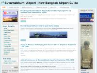 Suvarnabhumi Airport | New Bangkok Airport Guide
