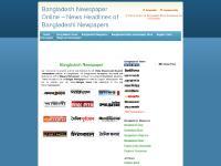 Bangladesh Newspaper Online - News Headlines of Bangladeshi Newpapers