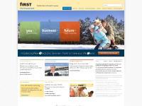 bankatfirst.com bank, first, finance
