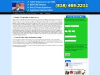 Barker $195 Traffic Lawyer - NY Speeding Ticket Attorney Randall Kehoe