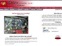 Bates Used Cycle Parts - Honda Kawasaki Suzuki Yamaha Motorcycle Bike parts - Garland - Dallas, TX