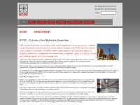 BCRC - Construction Materials Consulting - Durability Consulting - NDT