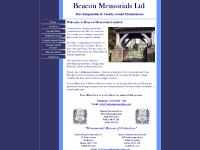 Beacon Funeral Services, How to Find Us, Memorial Gallery, info@beaconmemorials.co.uk