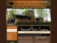 Branson Missouri Bed and Breakfast and Bear Creek Lodge Cabin Rentals | Branson Missouri Vacation Lodging