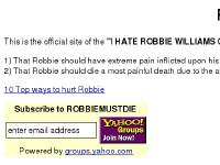 beats.org.uk 10 Top ways to hurt Robbie