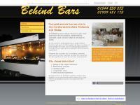 Mobile Bar Rental - West Midlands, Wales | Behind Bars Ltd