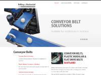 Conveyor belts Belts Scotland | Plastic Modular Belts | Flat Drive | Belting and Mechanical