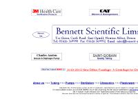 Bennett Scientific - Laboratory Equipment Home Page