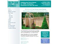 bergenfence.com Building Your Fence, Fence Types, Aluminum