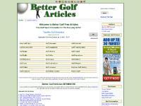 bettergolfarticles.com Free Golf Tips, Golf Accessories, Golf Bags