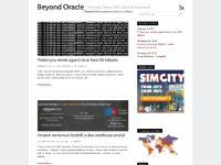 beyondoracle.com Beyond Oracle, linux, apex