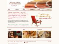 Bradshaw Fine Wood Furniture - French Polishing, Spray Polishing, Furniture Repairs,