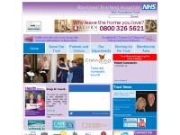 bfwhospitals.nhs.uk Patients and Visitors, Our Departments, Working for the Trust