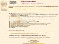 BiblePlus - The premiere on-line source for serious Bible study