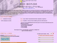 Bid Bonds, Bid Bond, Surety Bonds