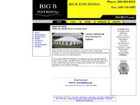 Big B Tent Rental - California Party Tent Rental