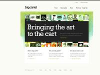 Big Cartel - Simple shopping cart for artists, designers, bands, record labels,