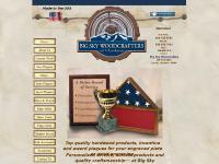 bigskywoodcrafters.com Custom Plaques, Custom Plaque, Wood Shadow Boxes