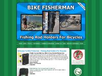 Welcome To Bike Fisherman - Fishing Rod Holders For Bicycles - Carry Your Fishing Pole On Your Bike - The Bike Fisherman