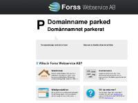 statistik för bildakuten - Domainname parked | Forss Webservice AB - Serverdrift och e-post