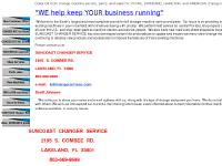 """BACKROOM specials"", Shop Services, New Machines, Bill to Bill machines"