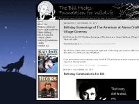 The Bill Hicks Foundation for Wildlife