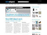 bim-object.se How BIM objects Work, Pressroom