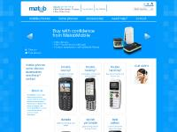 MatobMobile | Big Button Mobile Phones | Easy To Use Phones