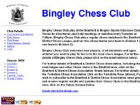 bingleychessclub.org.uk Chess, Bingley, Airedale