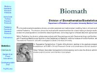 Biomath Div., Dept. of Peds, CPMC