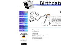 Birthdate - Home