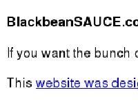 blackbeansauce.co.uk