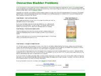 Bladder Problems