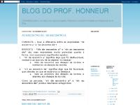 BLOG DO PROF. HONNEUR