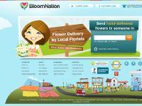 liten bloomnation.com skärmbild
