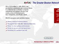 BNUG - The Boston Network Users Group