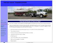 Yacht Transportation, Boat Transport, Boat Transport Service, Boat Mover, Yacht Hauling, Marine Transport | Triton Yacht Transporters