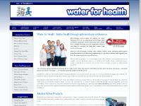 Water for Health, Alkaline Water and Green Superfood Drink Powders