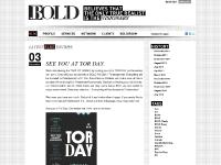 BOLD — PR, Below-the-Line, Research, Pop-Up Spaces