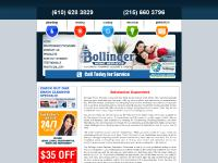 bollingerhomeservices.com Electric, Plumbing, Heating