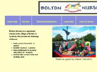 Welcome to Bolton Nursery website. Early years and childcare provision near Appleby Cumbria.