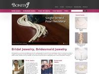 Bridal Jewelry, Bridesmaid Jewelry, Wedding Jewelry Sets | BonitaJ