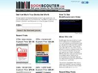 BookScouter.com - Sell Textbooks | Textbook Buyback | Sell Books | Sell Used Books