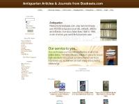 Hard to Find Articles & Journals from Booksets.com