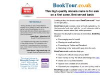 The domain name BookTour.co.uk is for sale. Own it today. Find out how...
